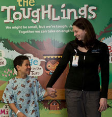 Child Life Services is a special program at Tufts Children's Hospital in downtown Boston, MA.