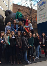 Key Club, Circle K and Kiwanis members attended the Kiwanis Pediatric Trauma Institute's annual Open House at Floating Hospital for Children in downtown, Boston.