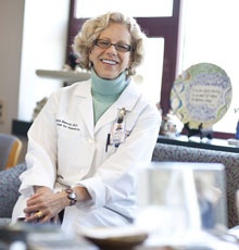 Diana Bianchi, MD is a world-renowned researcher in maternal-fetal medicine at Tufts Medical Center.