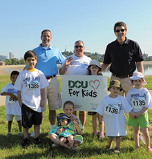 : Digital Federal Credit Union's charitable arm, DCU for Kids, has supported Harbor Walk & Run since 2011.