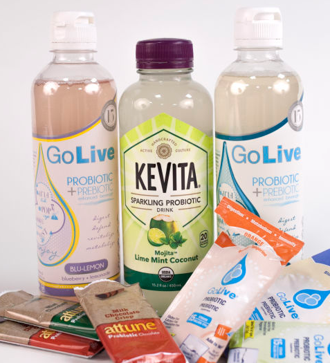 probiotic drinks and bars