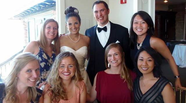 Floating Hospital for Children Pediatric Resident Caite's wedding.