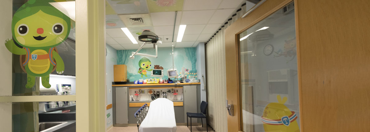 Pediatric Emergency department now is home to the Toughlings