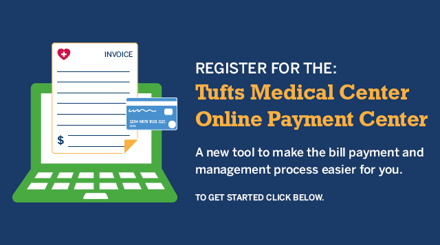 Click below to login to the Tufts MC Online Payment Center.
